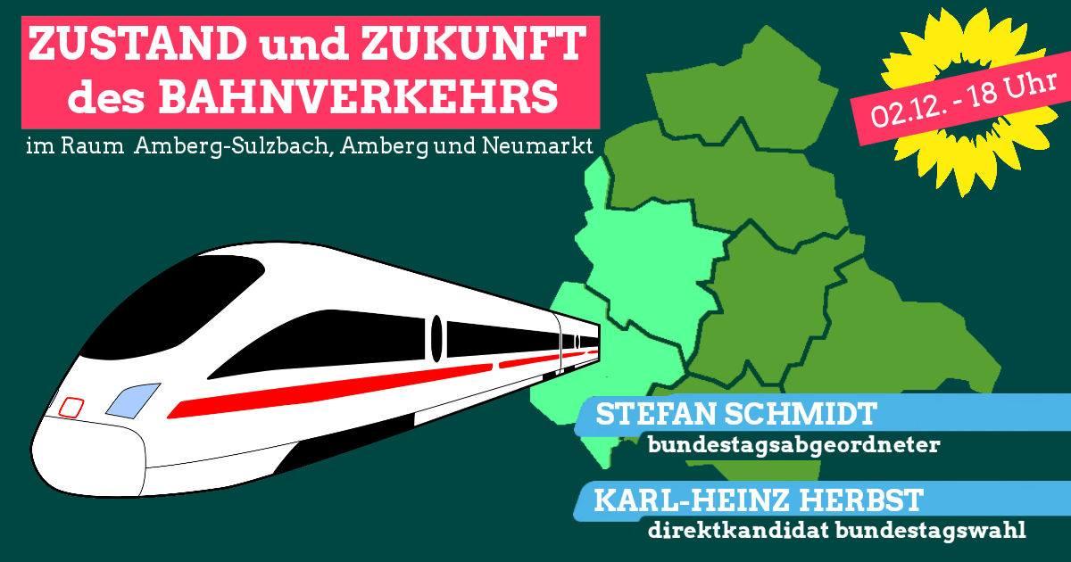 Bahnverkehr im Raum Amberg, Amberg-Sulzbach und Neumarkt